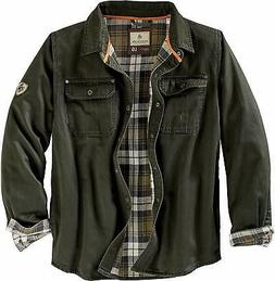 Legendary Whitetails Men's Journeyman Flannel Lined Rugged S