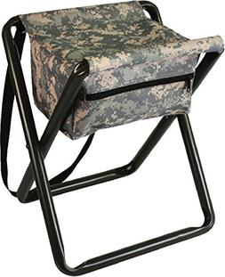 Lightweight Portable Deluxe Camping Stool Chair With Pouch