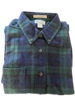 LL Bean Flannel Men's Shirt  XL/Tall Button Down Tradition