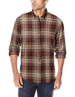 G.H. Bass & Co. Men's Long Sleeve Flannel Shirt