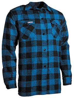 Fox Outdoor Men's Lumberjack Shirt Blue/Black Size M