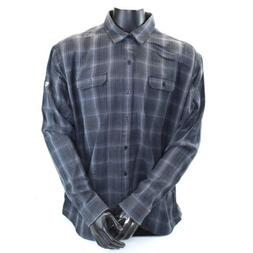 KUHL M's Shattered Plaid Flannel Button Down Shirt  NWT Mens