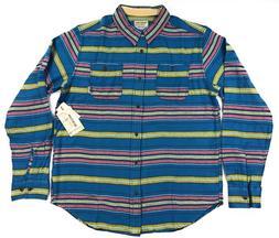 Burton MB Fairfax Woven Flannel Shirt Mens XL Midnight Essex