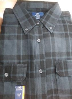 George Men Flannel Shirt 3XLT NWT REINFORCED SEAMS