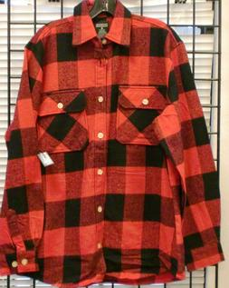MEN Flannel Shirts  Heavyweight Brawny Buffalo Plaid  Shirts