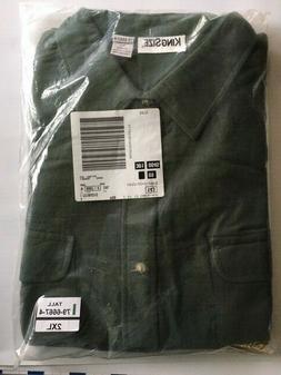 men s 100 percent cotton flannel shirt