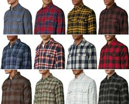 George Men's and Big Men's Long Sleeve Super Soft Flannel Sh