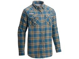 COLUMBIA MEN'S BEADHEAD FLANNEL LONG SLEEVE FISHING SHIRT S