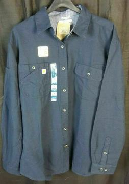 Carhartt Men's Beartooth Solid Long Sleeve Shirt NWT