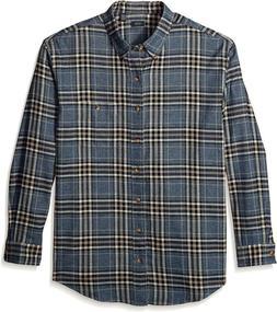 Arrow 1851 Men'S Big And Tall Saranac Flannels Long Sleeve B