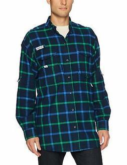 Columbia Men's Bonehead Flannel Long Sleeve Shirt, - Choose