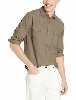 Burton Men's Brighton Flannel Down Shirt Falcon Medium