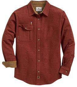 men s buck camp flannel shirt m