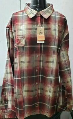 Legendary Whitetails Men's Buck Camp Flannel Shirt Size   3X
