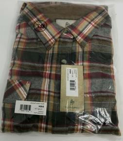 Legendary Whitetails Men's Buck Camp Flannel Shirt-XLarge Ta