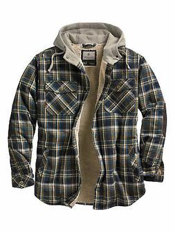 Legendary Whitetails Men's Camp Night Berber Lined Hooded Fl