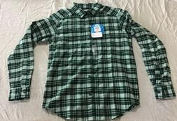 Columbia - Men's Cornell Woods Flannel Long Sleeve Shirt Siz