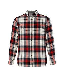 Woolrich Men's Eco Rich Stone Rapids Modern Fit Shirt, Carmi