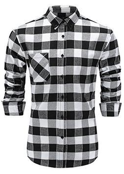 men s flannel 100 percent cotton slim