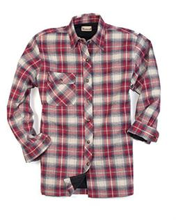 Backpacker Men's Flannel/Quilt Lined Shirt Jacket, Independe