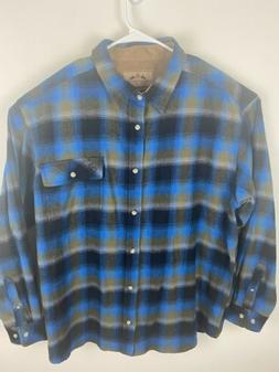 men s flannel shirt size xxl 2xl