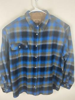 Legendary Whitetails Men's Flannel Shirt Size XXL 2XL Never