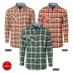 "Men's Flannel Shirt Very Heavy Like A Jacket Size 2XL ""Work"