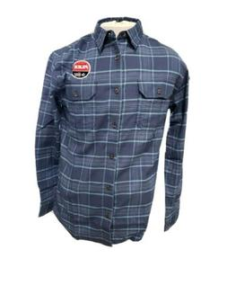 DICKIES MEN'S FLEX FLANNEL SHIRT MID-WEIGHT WL650 MOISTURE W