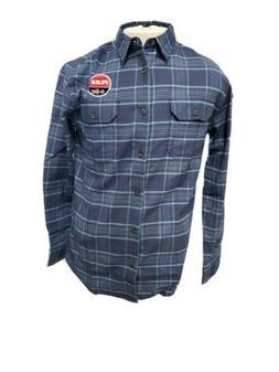 men s flex flannel shirt mid weight