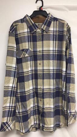 men s harbor heavyweight woven shirt size
