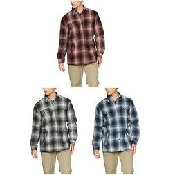 Carhartt Men's Hubbard Flannel Plaid Sherpa Cotton Lined Shi