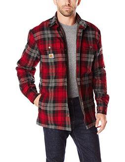 men s hubbard sherpa lined shirt jacket