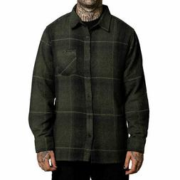 Sullen Men's Humboldt Flannel Long Sleeve Buttondown Shirts