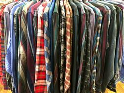 Wrangler ~ Men's ~ Lightweight Flannel Shirts
