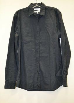 Goodthreads Men's Long-Sleeve Brushed Flannel Shirt, Charcoa