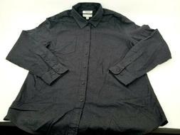 Goodthreads Men's Long-Sleeve Brushed Flannel Shirt Size L,
