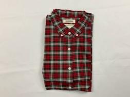 Goodthreads Men's Long-Sleeve Flannel Shirt,  Plaid L E10