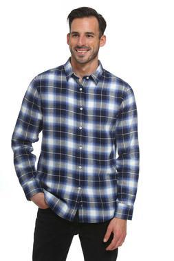 men s long sleeve regular fit flannel