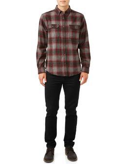 George Men's Long Sleeve Super Soft Flannel Shirt, Authentic