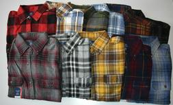 George Men's Long Sleeve Super Soft Flannel Shirt Choose Col