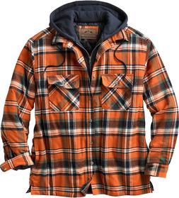 Legendary Whitetails Men'S Maplewood Hooded Flannel Shirt Ja