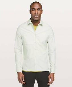Lululemon Men's Mason's Peak Flannel Shirt Top OCMS Ocean Mi