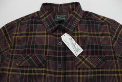 Men's WOOLRICH Plaid Flannel Shirt Jacket XL NWT NEW Modern