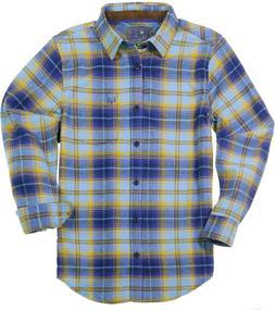 Bone Collector Men's Plaid Flannel Shirt - Long Sleeve Casua