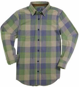 men s plaid flannel shirt long sleeve