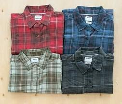 Hurley Men's Plaid Front Pocket Button Up Shirt NWT