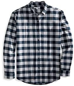 men s regular fit long sleeve plaid