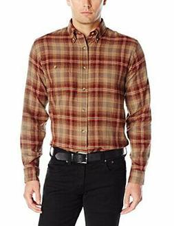 Arrow 1851 Men's Saranac Flannels Long Sleeve Butt - Choose
