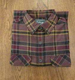 Woolrich Men's Shirt Hikers Trail Flannel M Quick Dry Wrinkl
