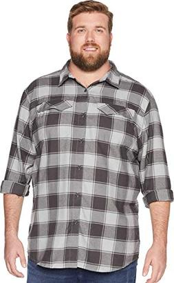 Columbia Men's Silver Ridge Flannel Big & Tall Long Sleeve S